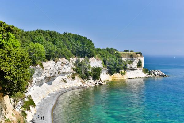 Népszerű turisztikai attrakció napos nyár nap tájkép Stock fotó © bigandt