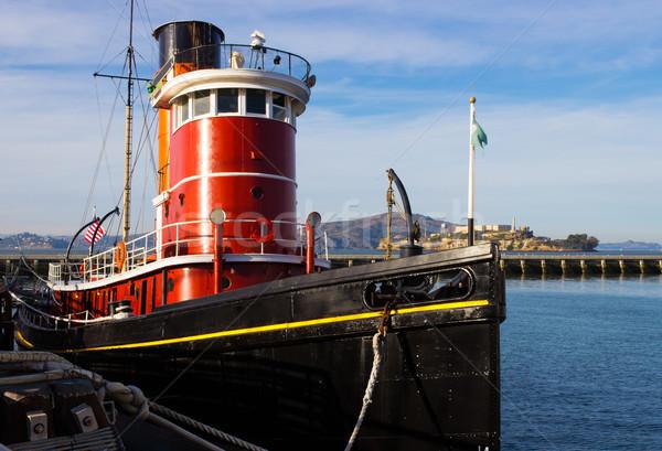 лодка воды судно транспорт США судоходства Сток-фото © bigjohn36