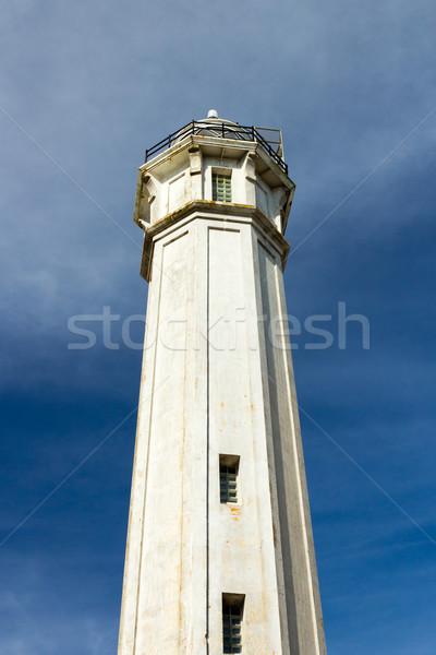 古い 灯台 空 光 都市 アーキテクチャ ストックフォト © bigjohn36