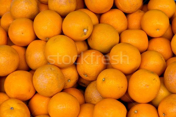 グループ オレンジ オレンジ 果物 健康 ストックフォト © bigjohn36