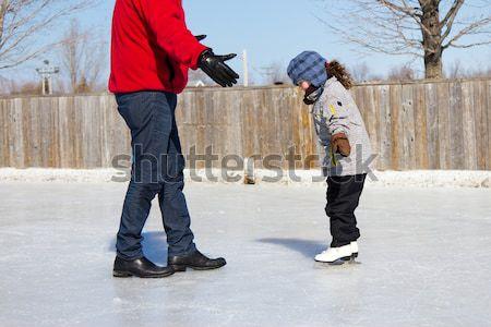 детей катание играет Открытый девушки Сток-фото © bigjohn36