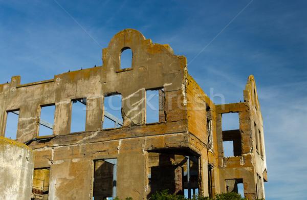 Old building ruins Stock photo © bigjohn36