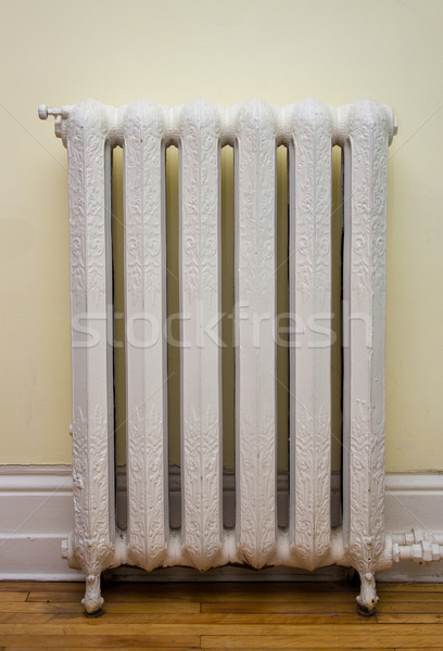 Antieke warmte radiator winter hot Stockfoto © bigjohn36