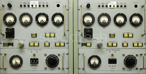 Vintage instrument panel Stock photo © bigjohn36