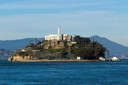 Alcatraz Island in San Francisco, USA Stock photo © bigjohn36