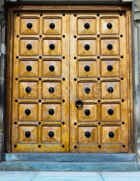 ドア ストックフォト © bigjohn36