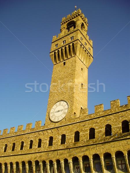 The Palazzo Vecchio Stock photo © bigjohn36