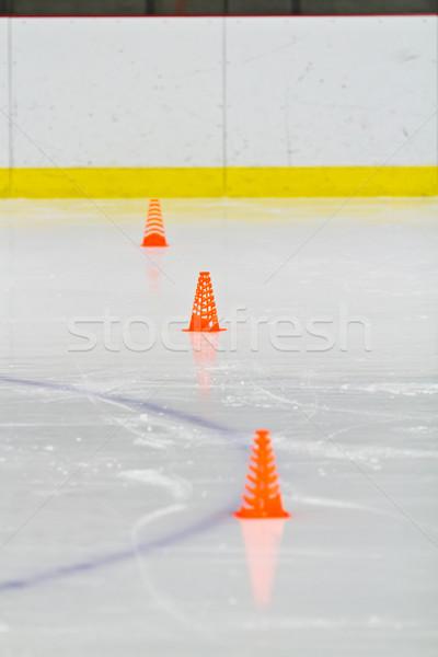 льда арена хоккей Сток-фото © bigjohn36