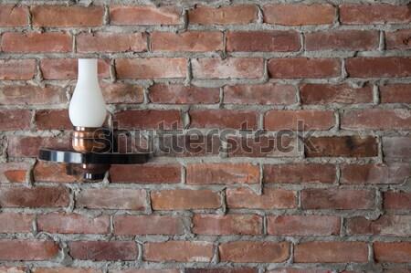 ストックフォト: 光 · レンガの壁 · 家 · デザイン · ホーム · 背景