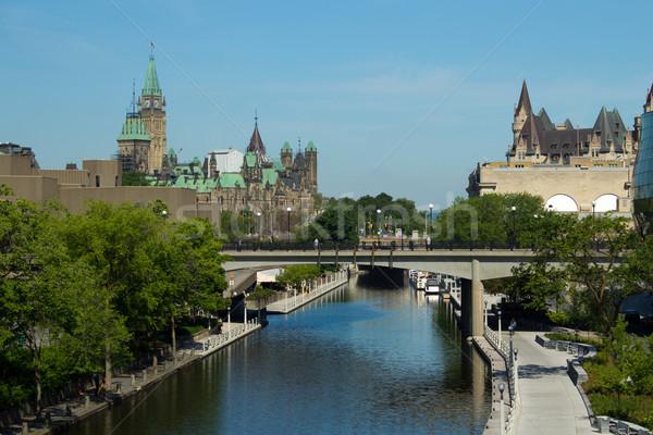 канал Оттава Канада ЮНЕСКО Мир наследие Сток-фото © bigjohn36