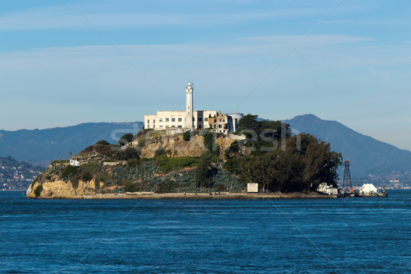 Alcatraz Island in San Francisco, USA Stock photo © bigjohn36
