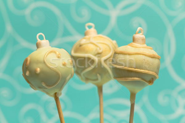 Christmas cake pops Stock photo © BigKnell