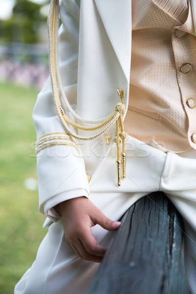 Closeup of First Communion clothes Stock photo © BigKnell