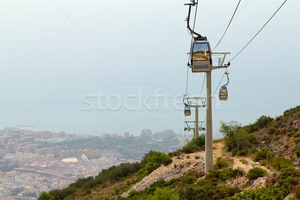 Miasta morza widoku Hiszpania hot lata Zdjęcia stock © BigKnell