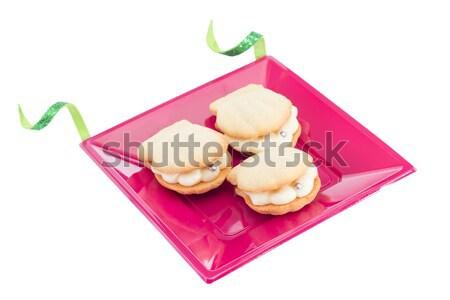 Powłoki cookie perła candy Zdjęcia stock © BigKnell