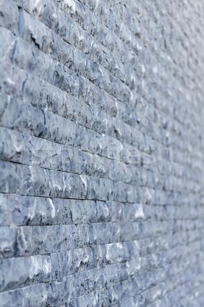 Murem tekstury płytki budowy projektu tle Zdjęcia stock © BigKnell