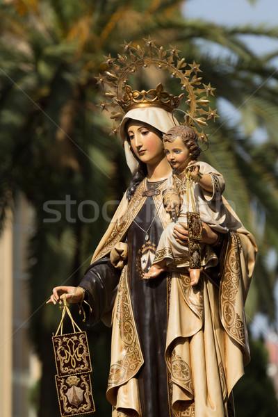 Virgen del Carmen Stock photo © BigKnell