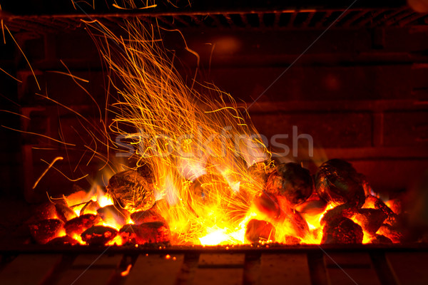 Sparkling Barbecue Stock photo © BigKnell