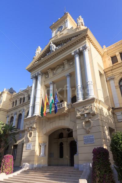 Malaga City Hall Stock photo © BigKnell
