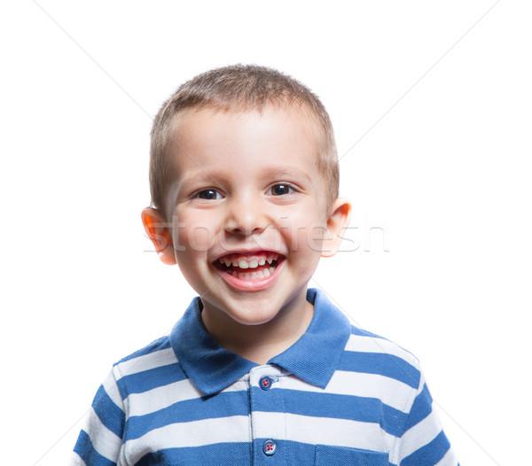 Happy little boy Stock photo © BigKnell