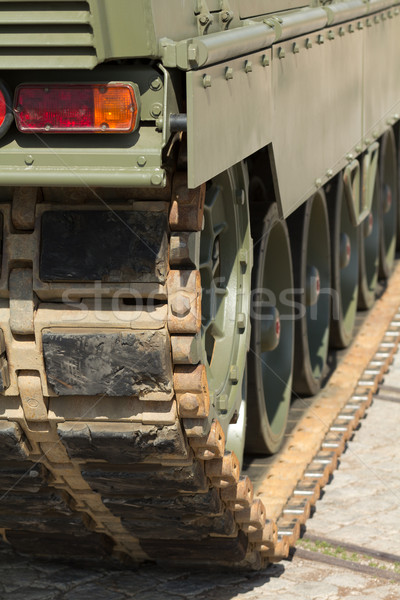 Tank chains Stock photo © BigKnell