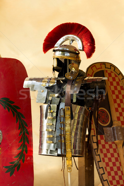 Roman armour Stock photo © BigKnell