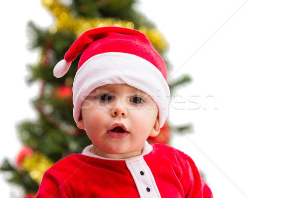 Christmas Baby Stock photo © BigKnell