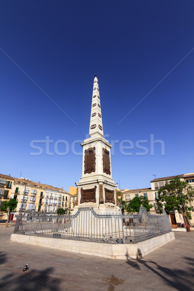 Malaga la Hiszpania cześć ogólny Zdjęcia stock © BigKnell
