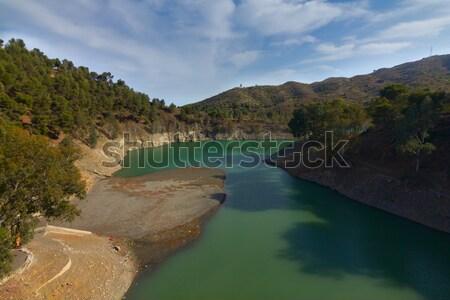 водохранилище мнение озеро малага Испания Сток-фото © BigKnell