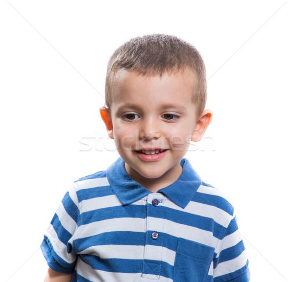 Zdjęcia stock: Cute · mały · chłopca · portret · szczęśliwy · radosny