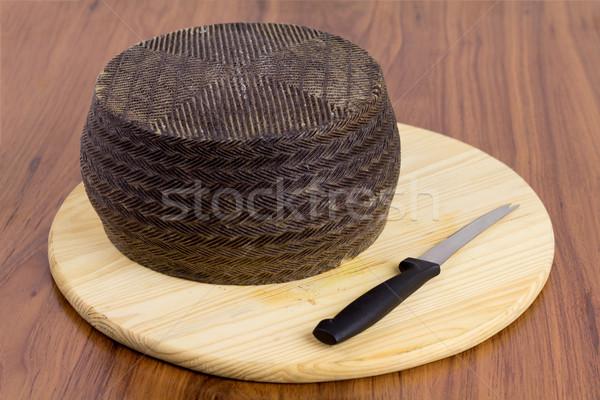 Spanish manchego cheese Stock photo © BigKnell