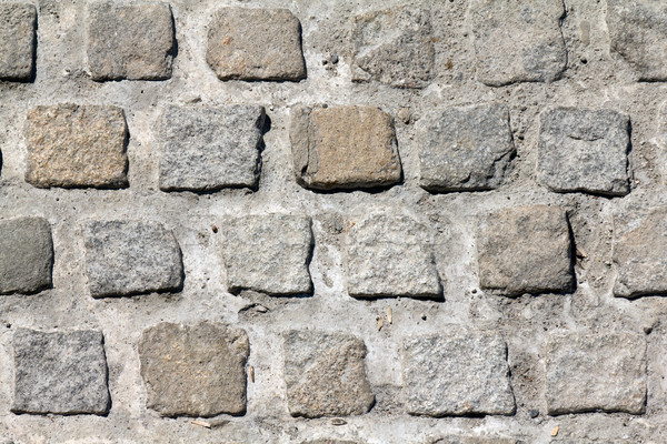 Cobble stones close-up Stock photo © BigKnell