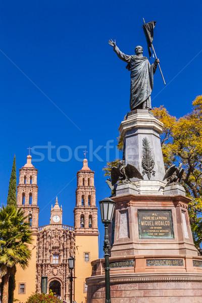 父 像 外 大聖堂 メキシコ 戦争 ストックフォト © billperry