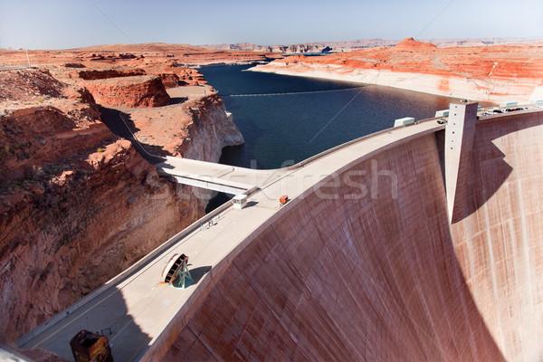 Glen Canyon Dam Lake Powell Arizona Stock photo © billperry