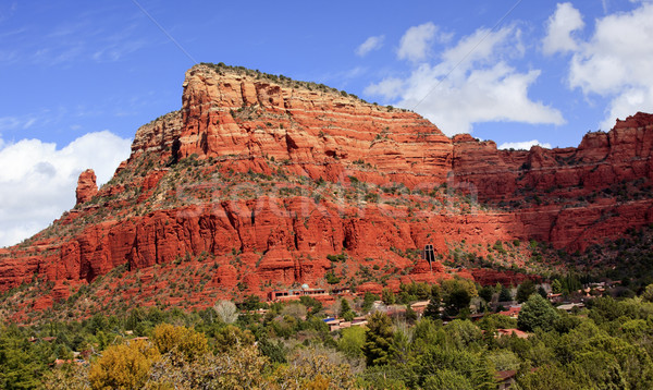 Red Rock Canyon Chapel of the Holy Cross Sedona Arizona Stock photo © billperry
