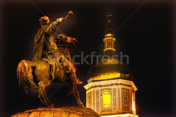 статуя святой квадратный Украина скульптор Сток-фото © billperry