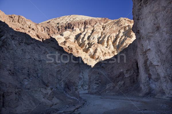 Golden Canyon Entrance Road Death Valley National Park Californi Stock photo © billperry