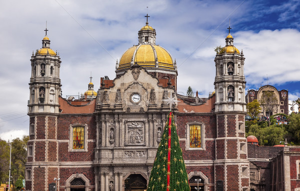 Vecchio basilica santuario Natale giorno albero Foto d'archivio © billperry