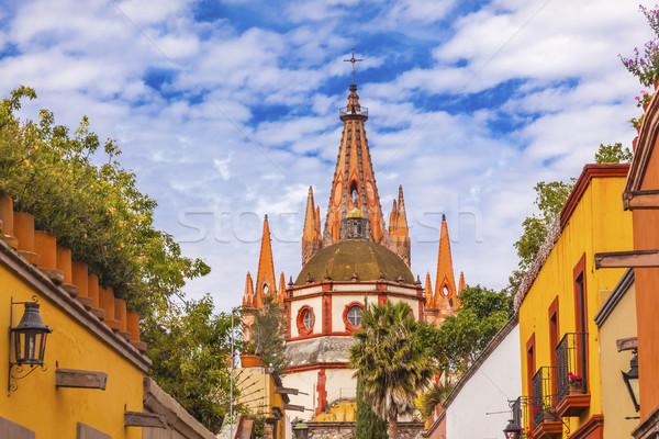 улице Церкви купол Мексика здании архитектура Сток-фото © billperry