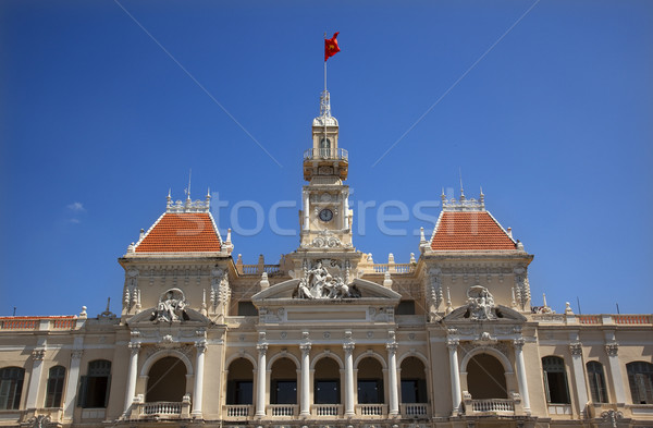 Stock photo: People's Committee Building Saigon Vietnam