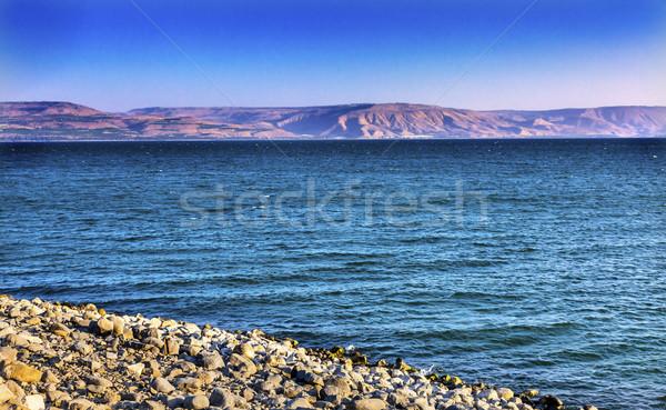 Mar casa Israel igreja topo Foto stock © billperry