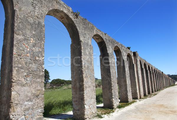 Antica Portogallo edifici cityscape cultura città Foto d'archivio © billperry