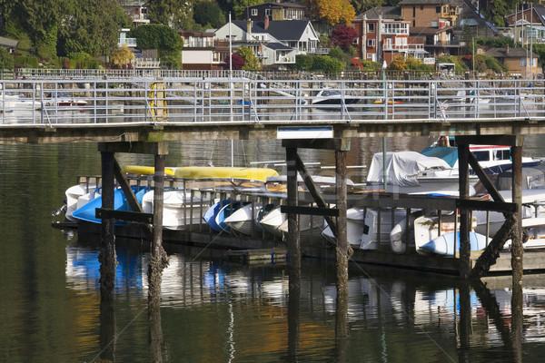 Profundo porto Vancouver Canadá cobrir Foto stock © billperry