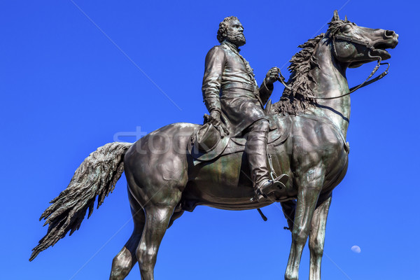 Major General George Henry Thomas Civil War Statue Moon Thomas C Stock photo © billperry