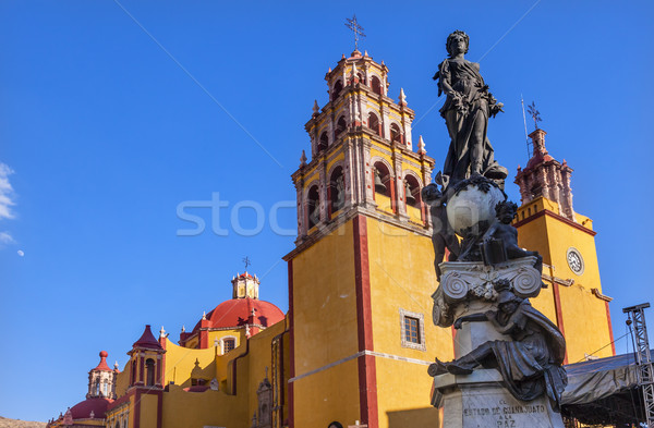мира статуя Lady базилика Мексика город Сток-фото © billperry