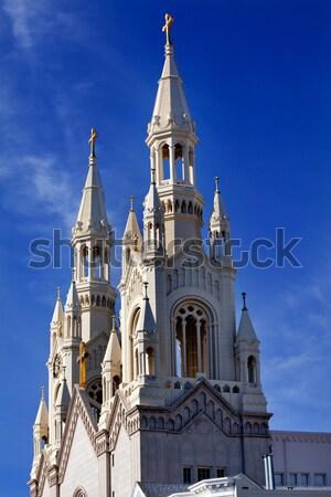 Católico iglesia San Francisco California ciudad Foto stock © billperry