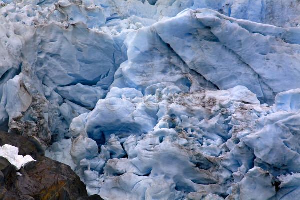 ледник аннотация Аляска синий рок Сток-фото © billperry