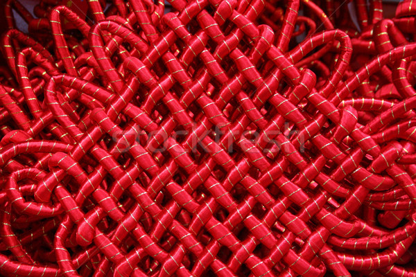 Chinese Good Luck Knot Ornament Stock photo © billperry