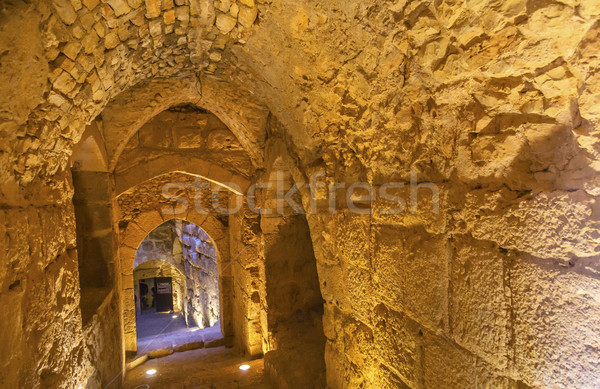 Qalat ar-Rabid Ancient Arabic Fortress Castle Ajlun Jordan Stock photo © billperry