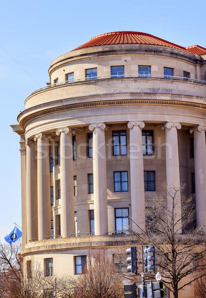 Federalny handlu banderą Washington DC konkurencja niezależny Zdjęcia stock © billperry